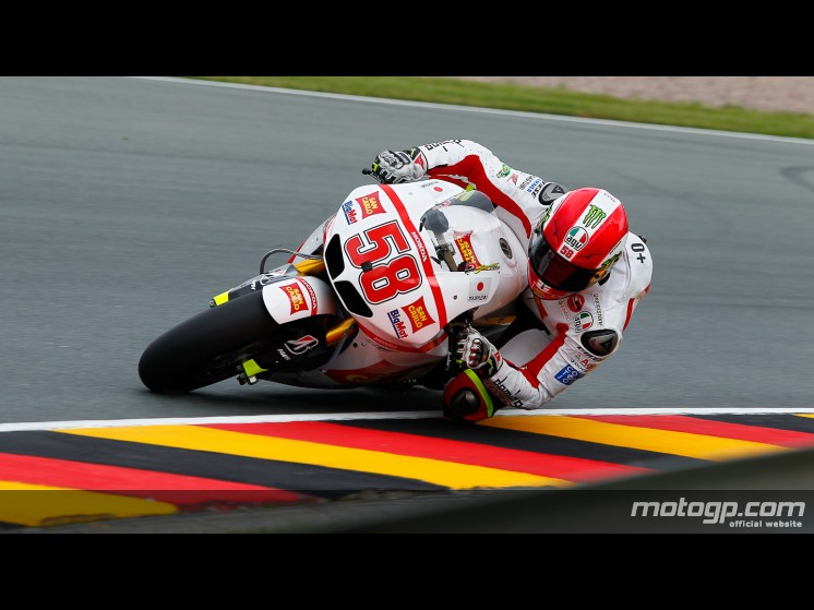 Simoncelli encabeza la accidentada FP1