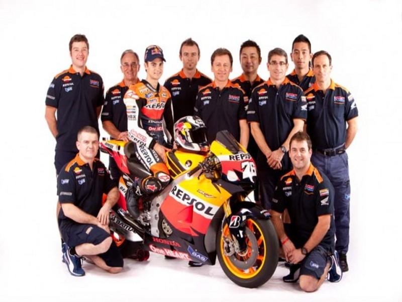 El Repsol Honda Team presenta su equipo de MotoGP 2016