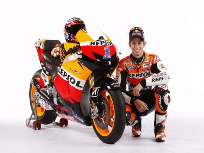 Presentación del equipo Honda Repsol de MotoGP