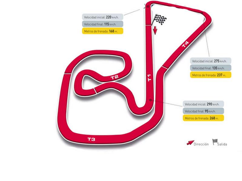 Circuito Sachsenring : Gran premio de alemania circuito sachsenring