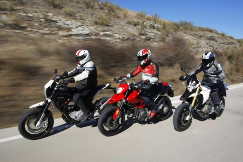Comparativa Supermotard 2012