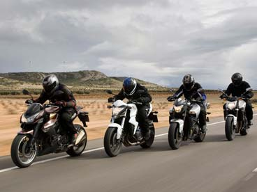 Qué moto comprar: Motos big naked